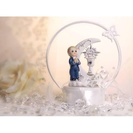 Figurine Première Communion Garçon 15cm