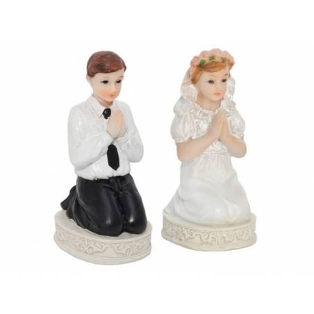 Figurine Première Communion Garçon 11cm