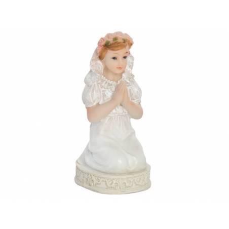 Figurine Première Communion Fille 11cm