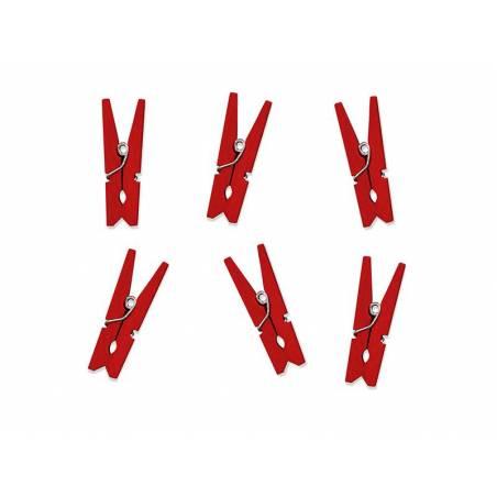 Piquets en bois rouge