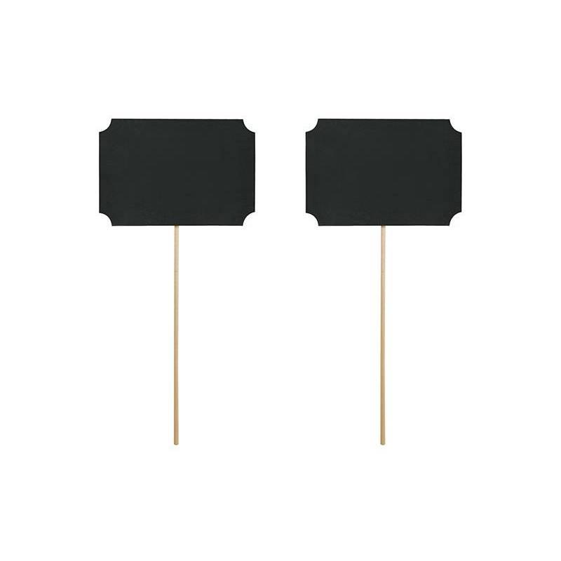 Les accessoires sur un bâton noir 11 x 8 cm