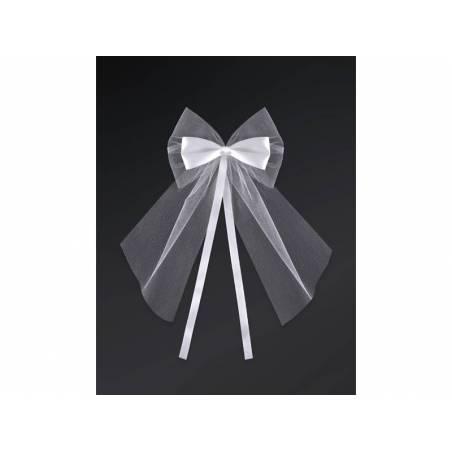 Archets avec un ruban blanc 18cm