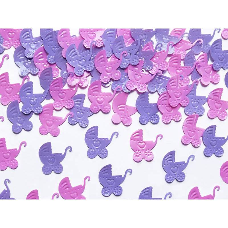 Landau confetti rose et violet 15g