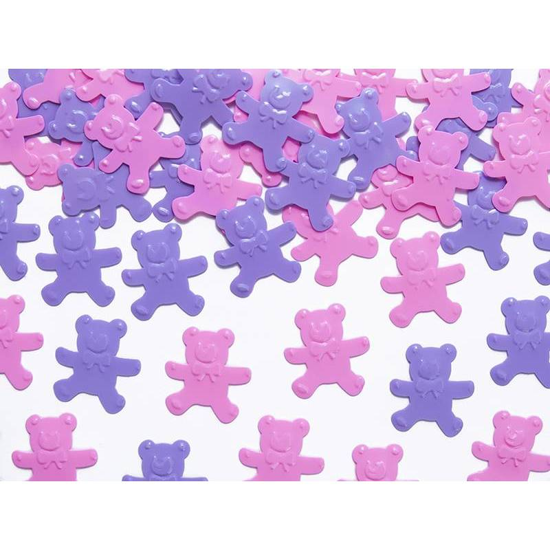 Confetti Bears rose et violet 15g