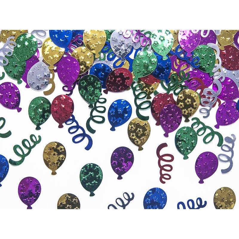 Partie de confettis métalliques 15g
