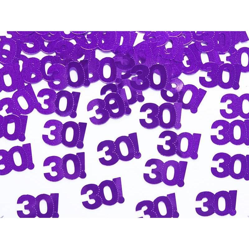 Confettis métalliques numéro 30 15g