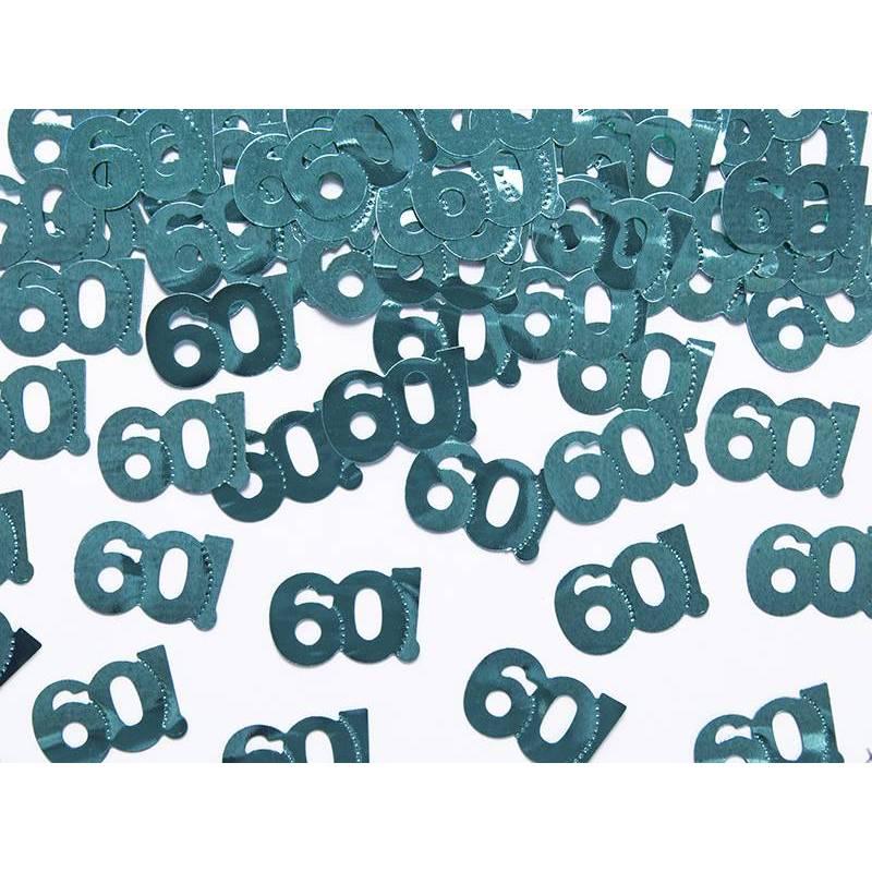 Confettis métalliques numéro 60 15g