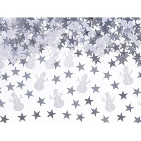 Confetti Chubby Snowman 7g