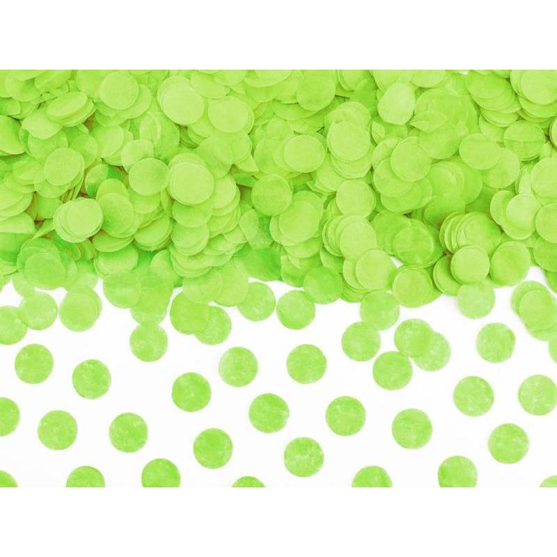 Cercles Confettis pomme verte 15g