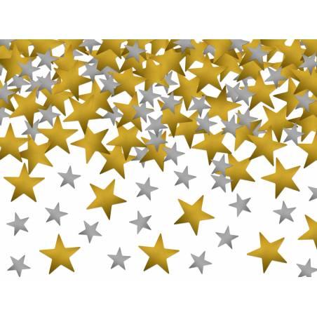 Confetti Stars or et argent 7g