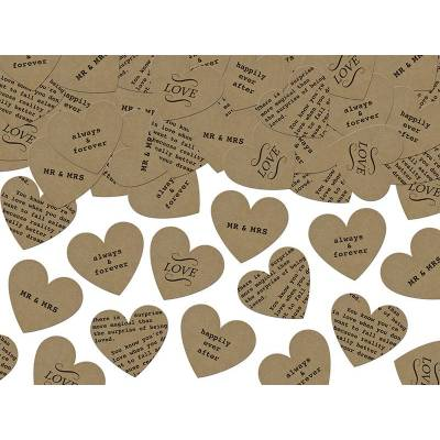 Confettis Coeurs mélanger 3g