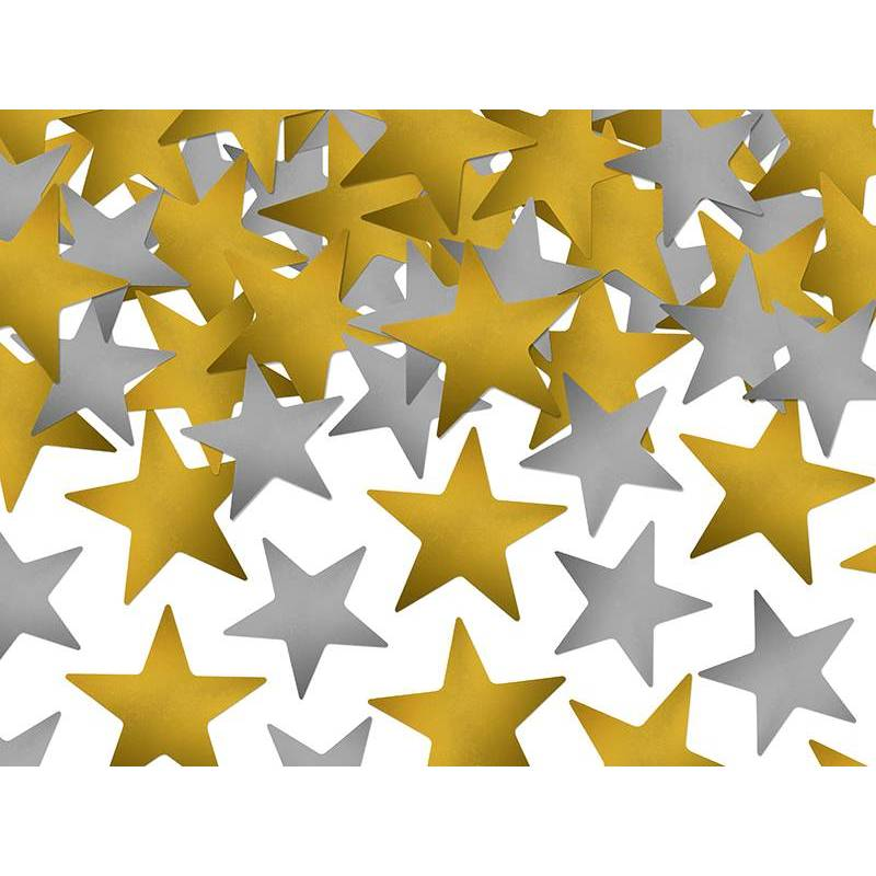 Confetti Stars or et argent 7g