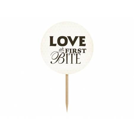 Cupcake Toppers Sweet Love mélange 92 cm