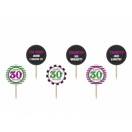 Garnitures à cupcakes Trente mélanger 92 m