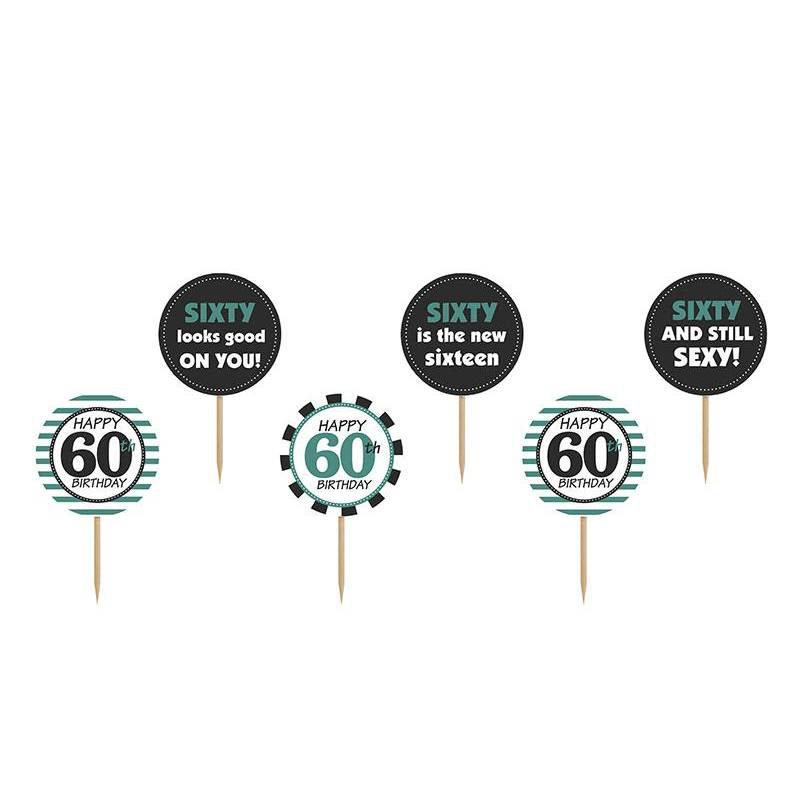 Garnitures à cupcakes Sixty mélanger 92 cm