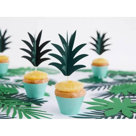 Garnitures à cupcakes Aloha - Ananas