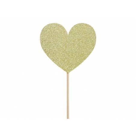 Garnitures pour petits gâteaux Sweet Love - Coeurs