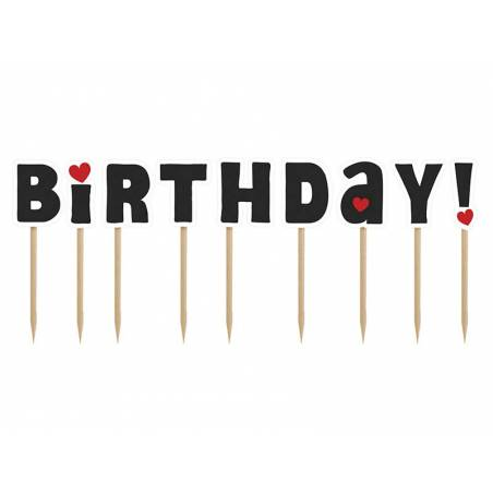 Garnitures pour gâteaux et petits gâteaux - Joyeux anniversaire ! mélanger 92 cm