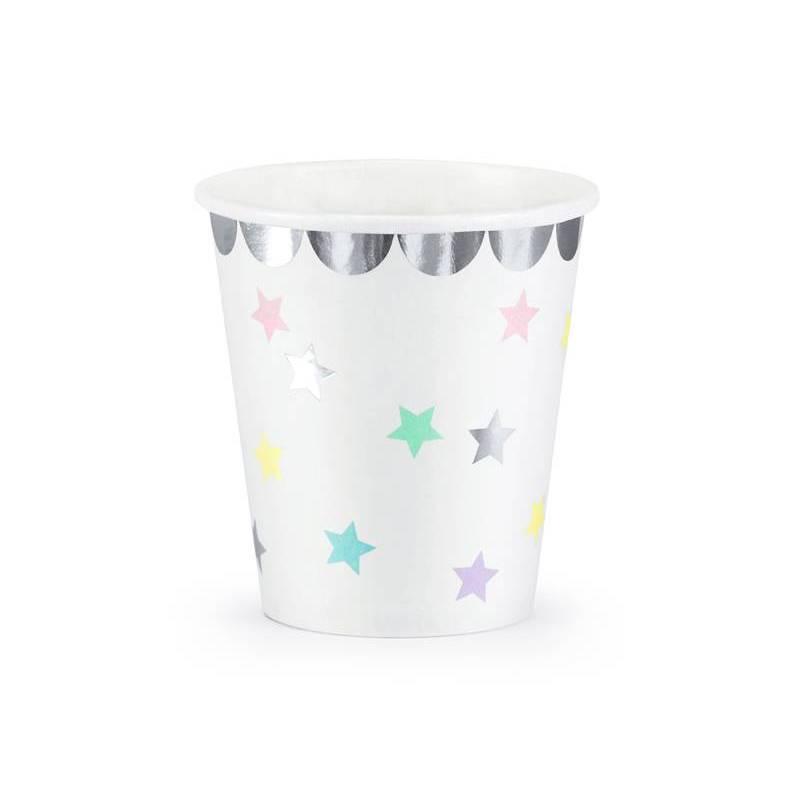 Tasses Licorne - Étoiles 180 ml