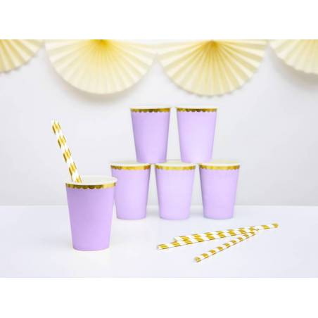Coupes lilas clair 220ml