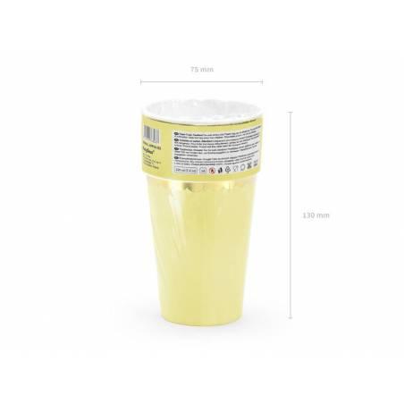 Coupes jaune clair 220ml