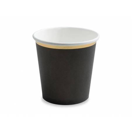 Gobelets noir 100 ml