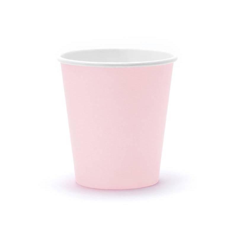 Coupes rose poudré clair 180ml