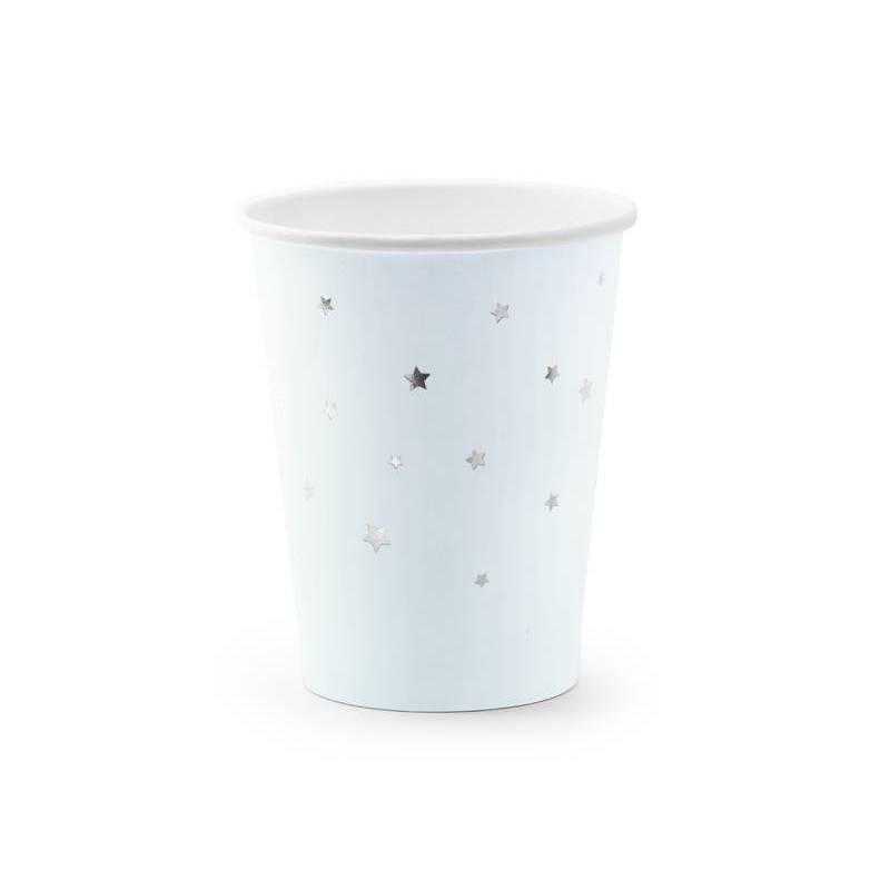 Coupes Etoiles bleu clair 260ml