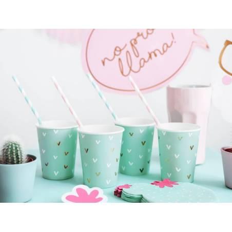 Gobelets en papier Cactus mélange 220 ml