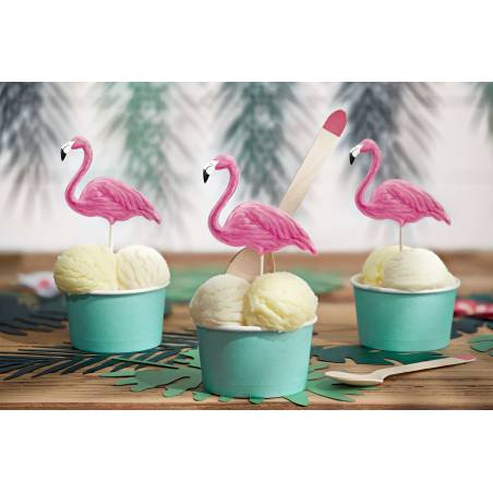 Toppers Aloha - Flamants Roses 15-23.5cm