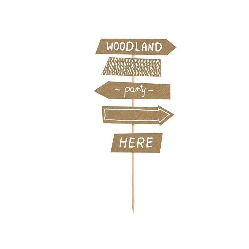 Topper Woodland - Panneau indicateur 205 cm