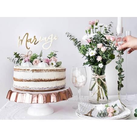 Gâteau Mariage or 22.5cm