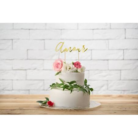 Gâteau Amour or 22.5cm