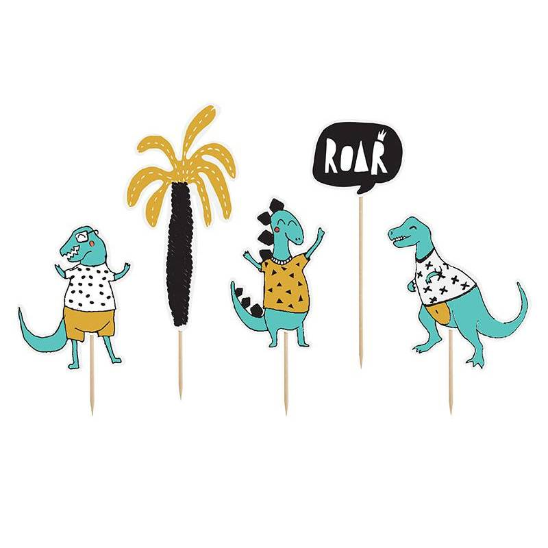 Dinosaures Toppers 15.5-20cm