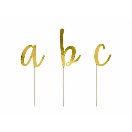 Alphabet Toppers or 9.5-12cm