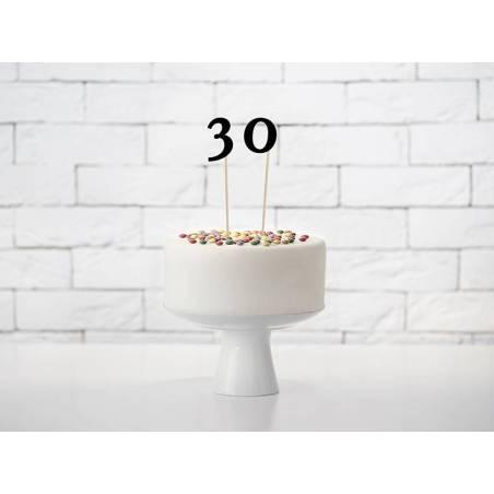 Numéros de table noir 24-26cm