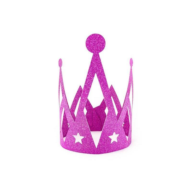Crown Princess rose foncé