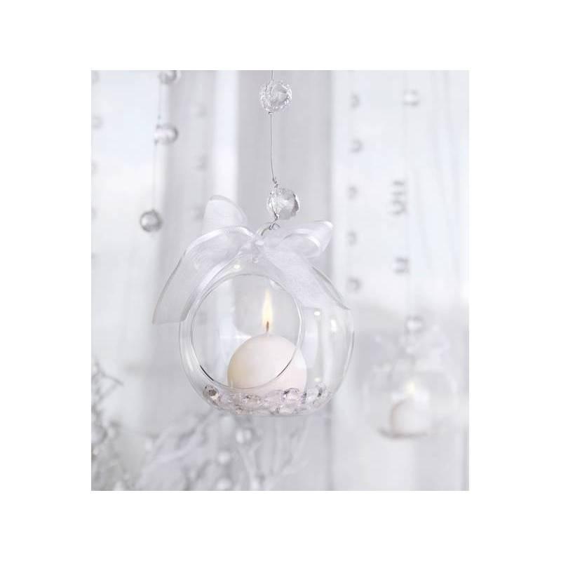 Boules de verre - bougeoir 10cm