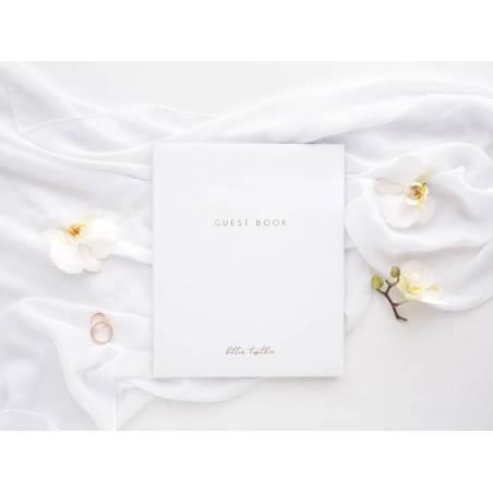 Livre d'or Livre d'or 20x245cm blanc 22 pages