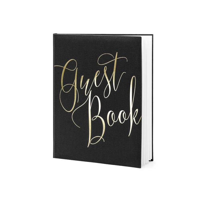 Livre d'or 20x245cm noir 22 pages