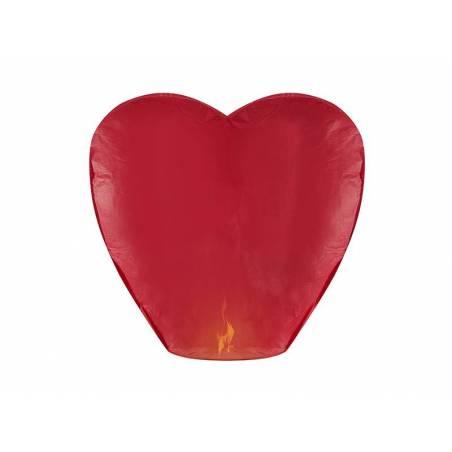 Lanterne céleste Coeur rouge 37 x 93 x 95cm