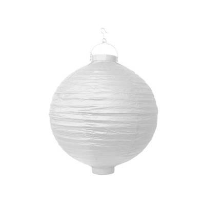 Lanterne en papier blanche 30cm