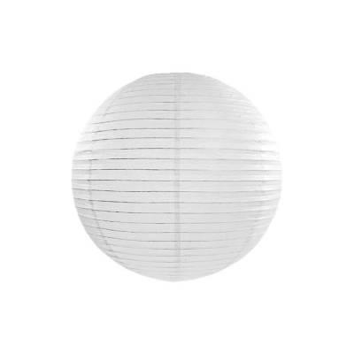 Lanterne en papier blanche 20cm