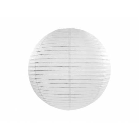Lanterne en papier blanche 25cm