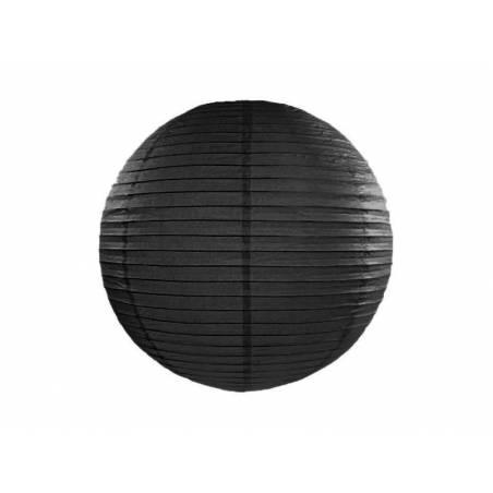 Lanterne en papier noir 35cm