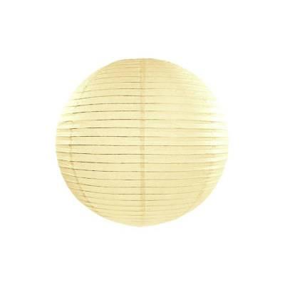 Lanterne en papier crème 35cm