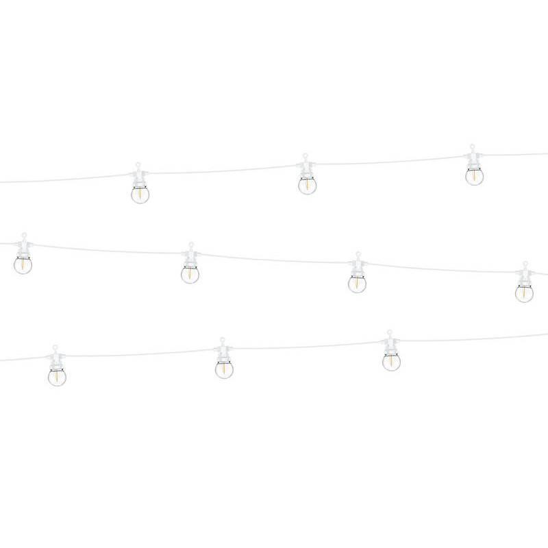 Festoon LED blanc 5m ne contient pas de prise britannique