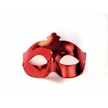 Masque de fête rouge