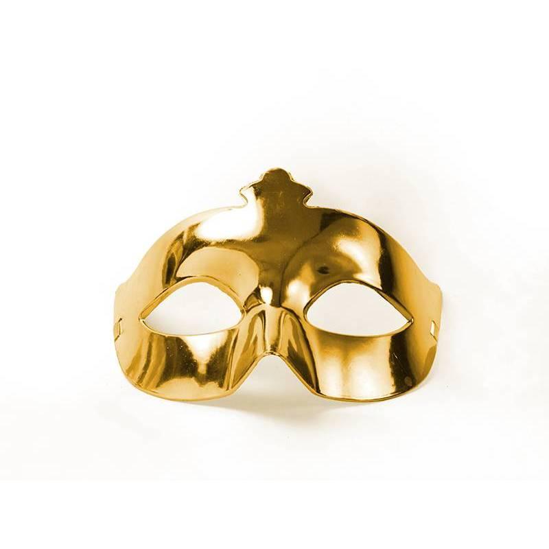 Masque de fête or