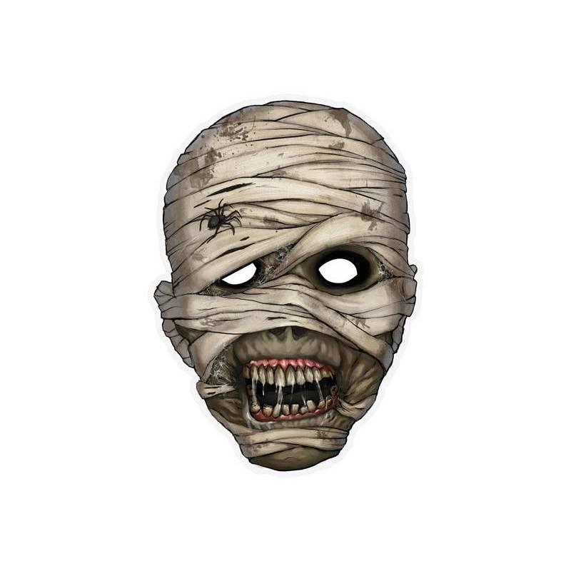 Masque Momie 21 x 29cm